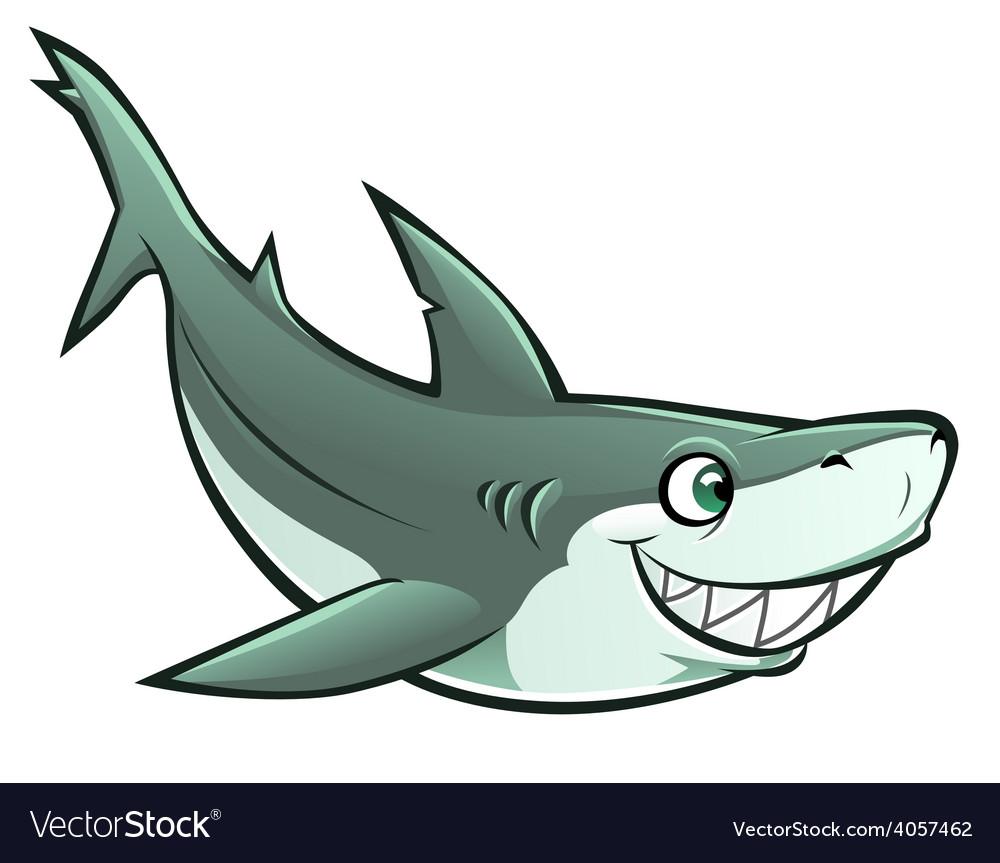 Cheerful shark