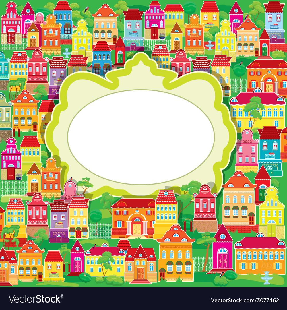 Houses summer frame 380