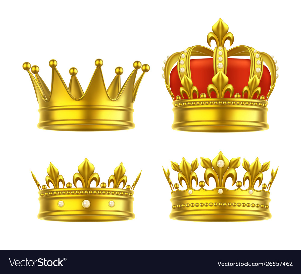Isolated 3d King Crown Or Realistic Princess Tiara Learn to draw a pretty crown. vectorstock