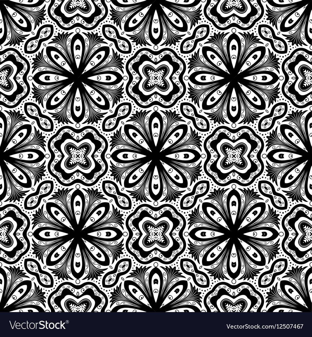 Flower Pattern Intricate Luxury Damask
