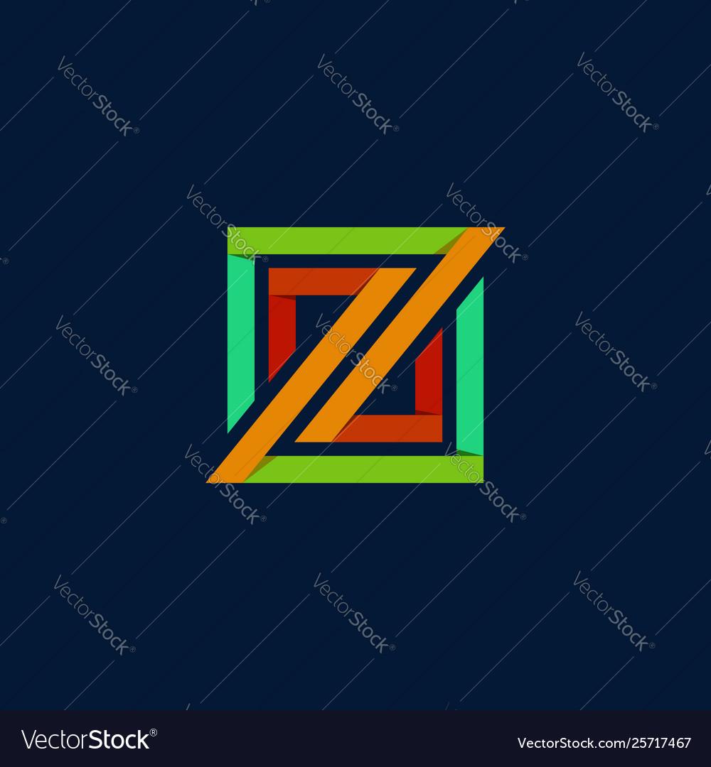 Z rectangular logo