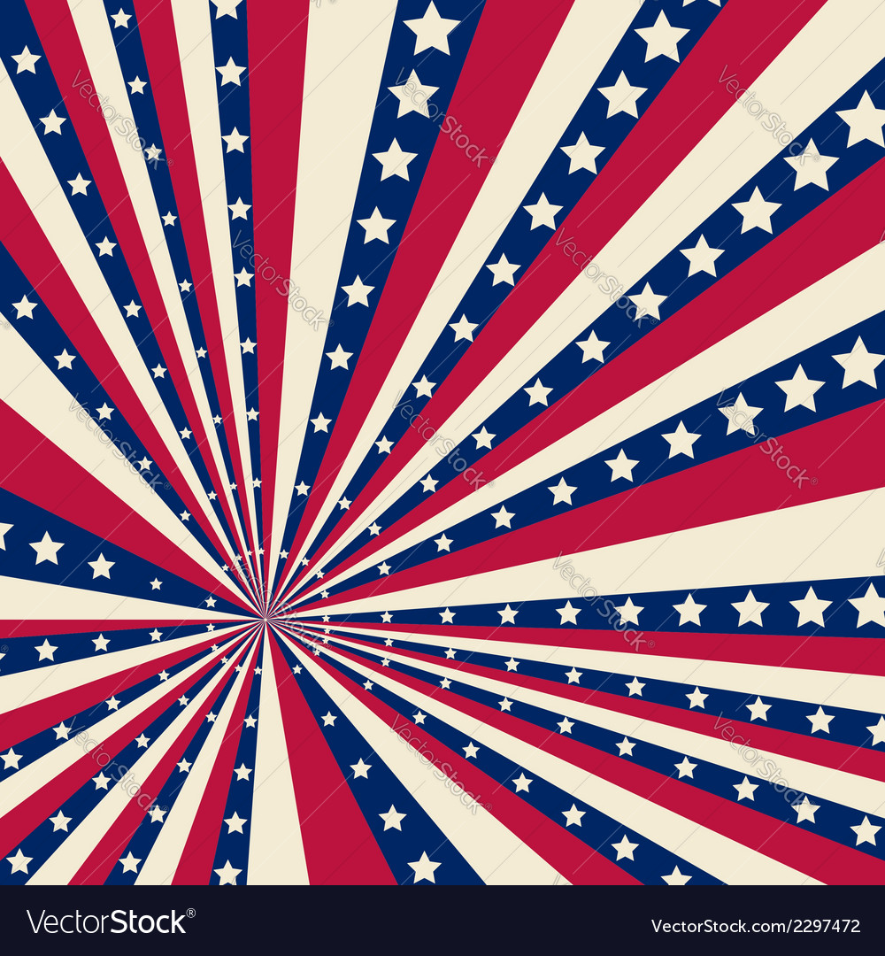 American striped background