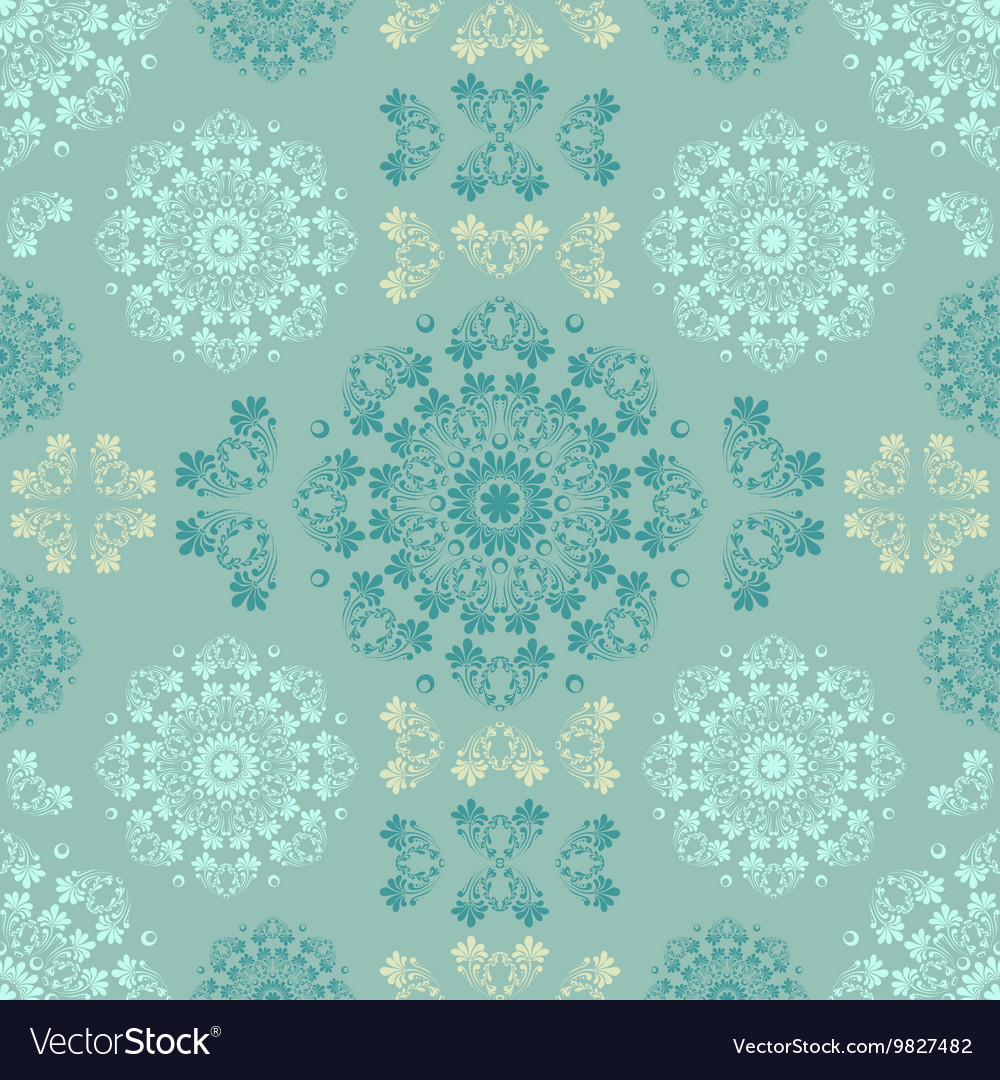 Blue seamless pattern for wall Wallpaper fabric