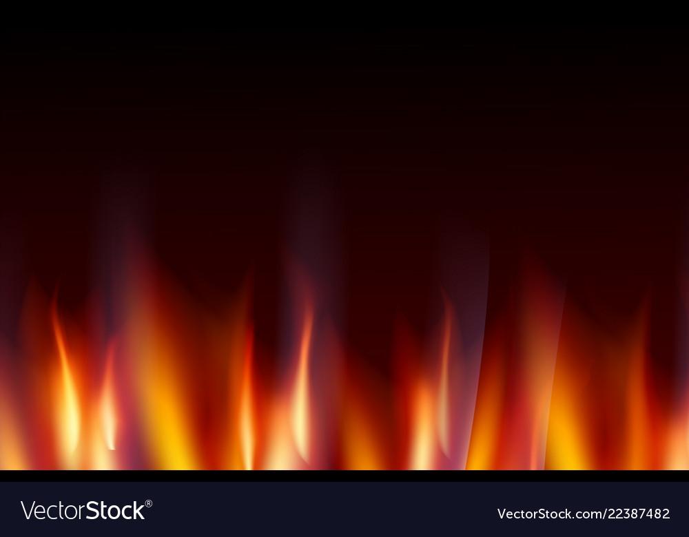 Burn flame fire dark background