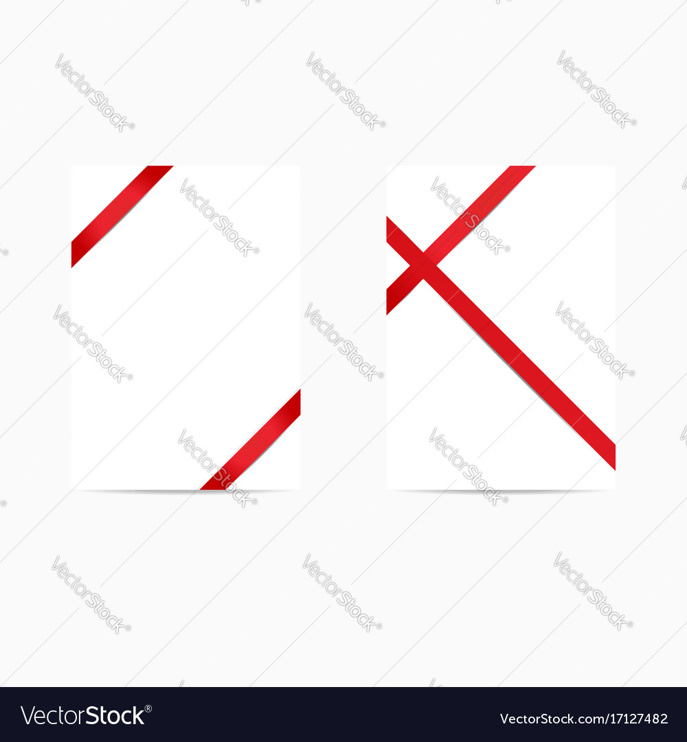 Set of gift cards on white background