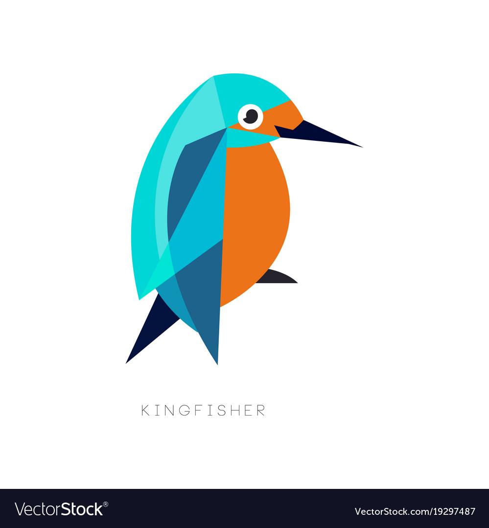 Bird Logo Kingfisher Vector Images 51