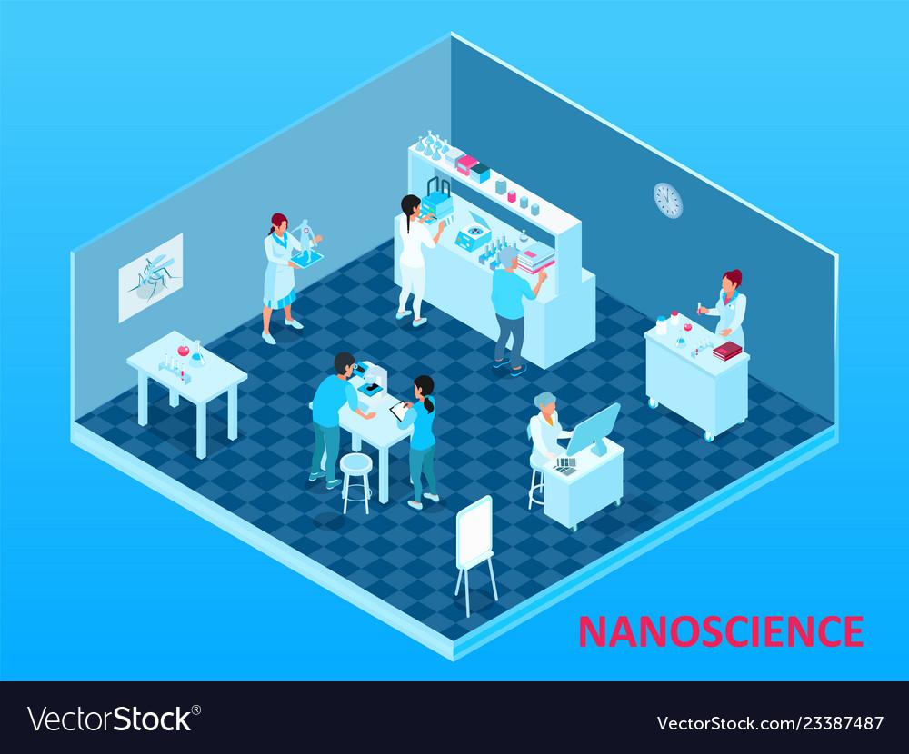 Isometric nanotechnology composition