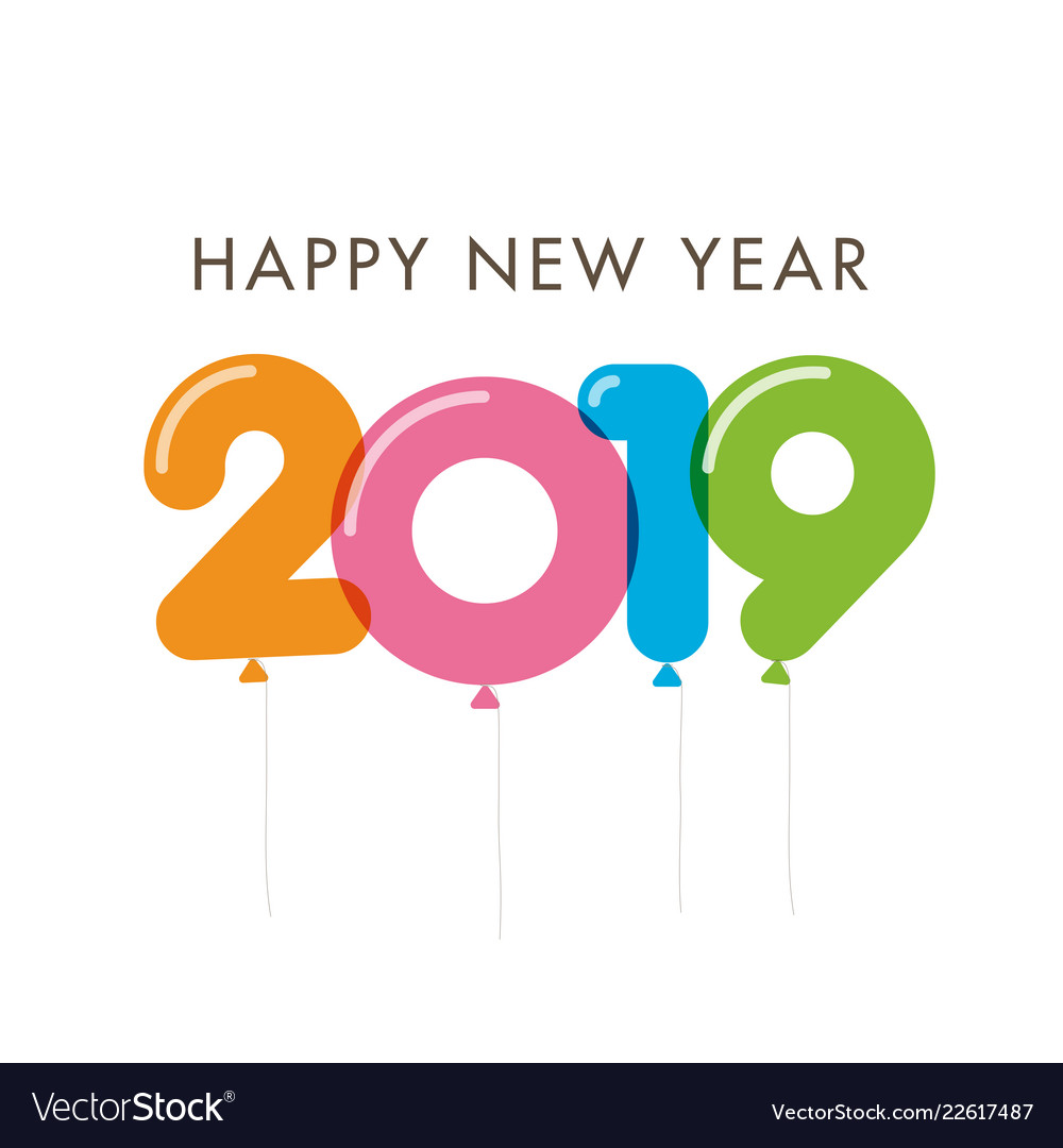 New-year-2019-colorful-balloons