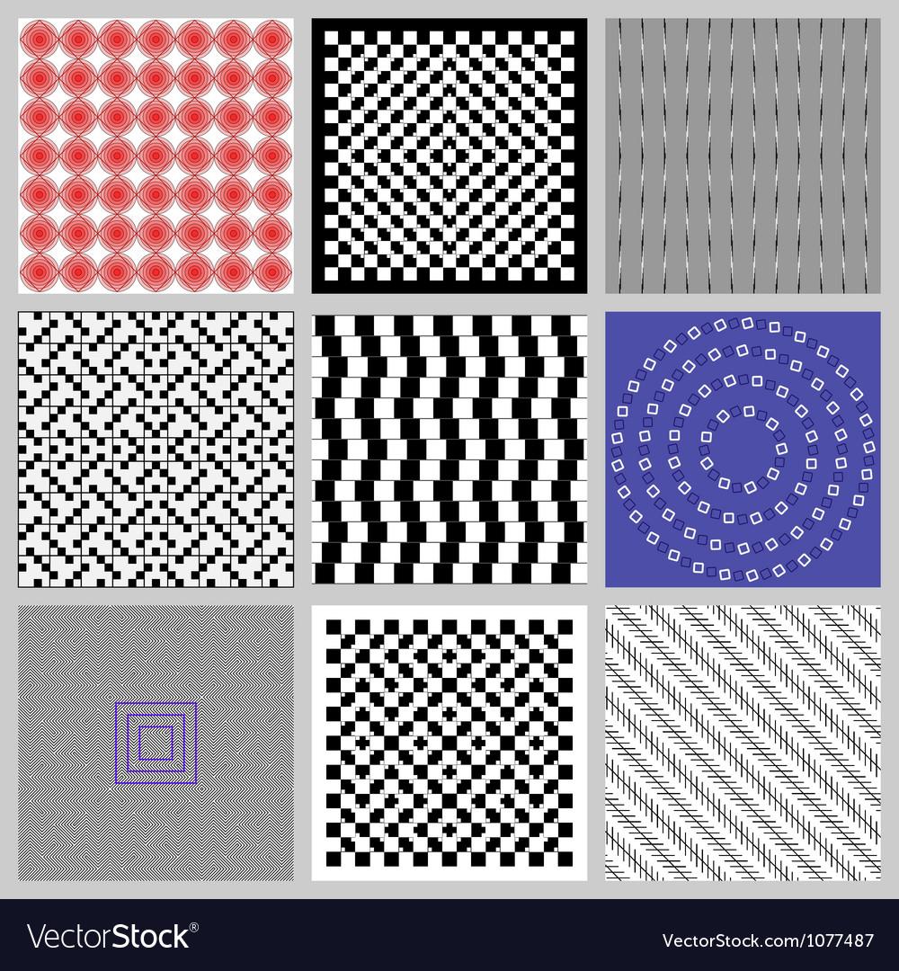 Optical Set vector image