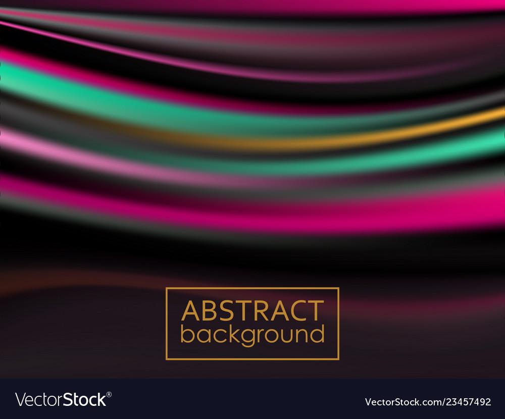 Modern colorful flow poster wave liquid shape
