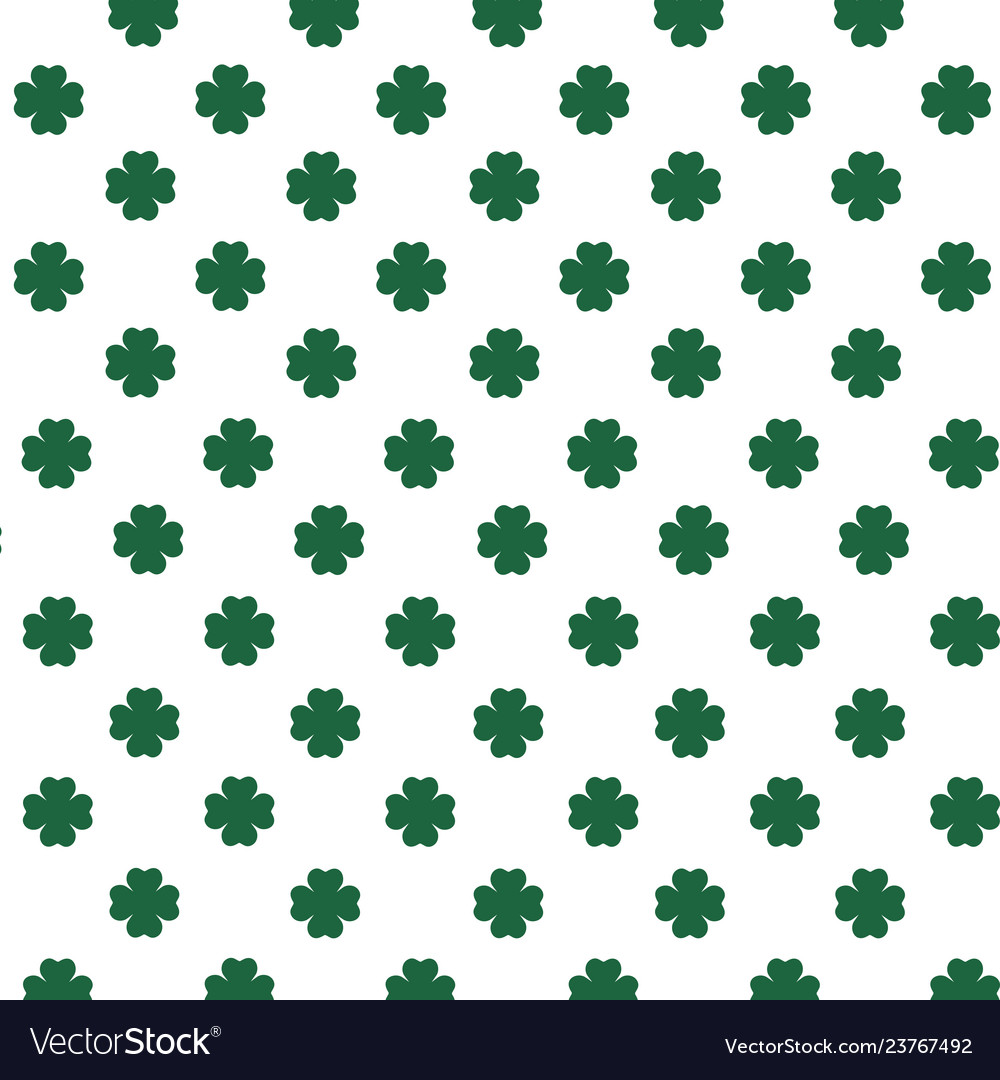 four leaf clover Royalty Free Vector Image