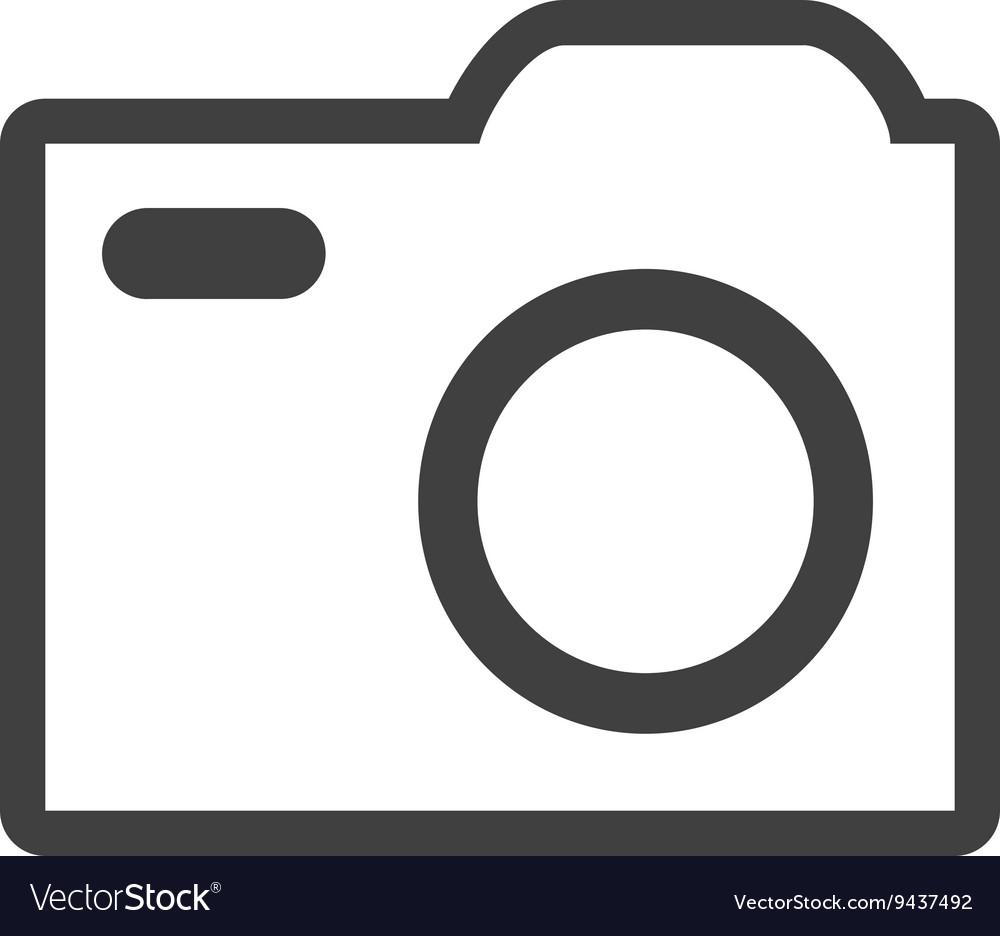 White media icon graphic