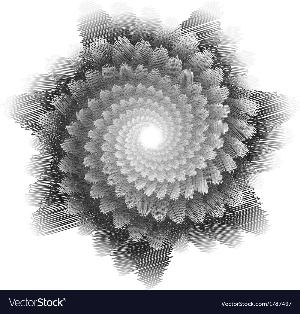 Abstract sketch background vector image