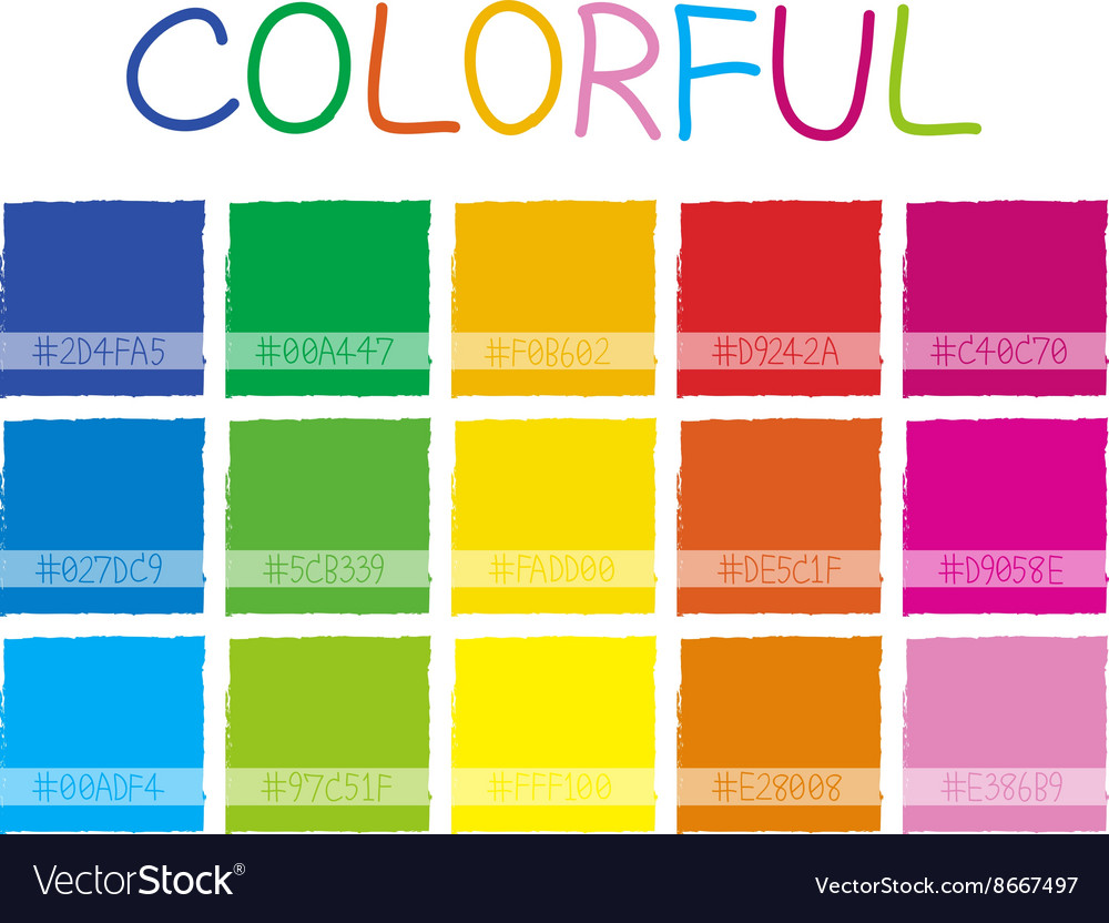 Colorful Color Tone