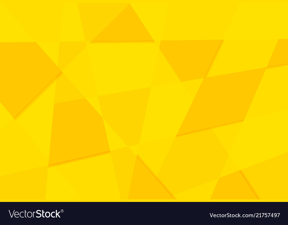 Yellow orange abstract triangles retro paper
