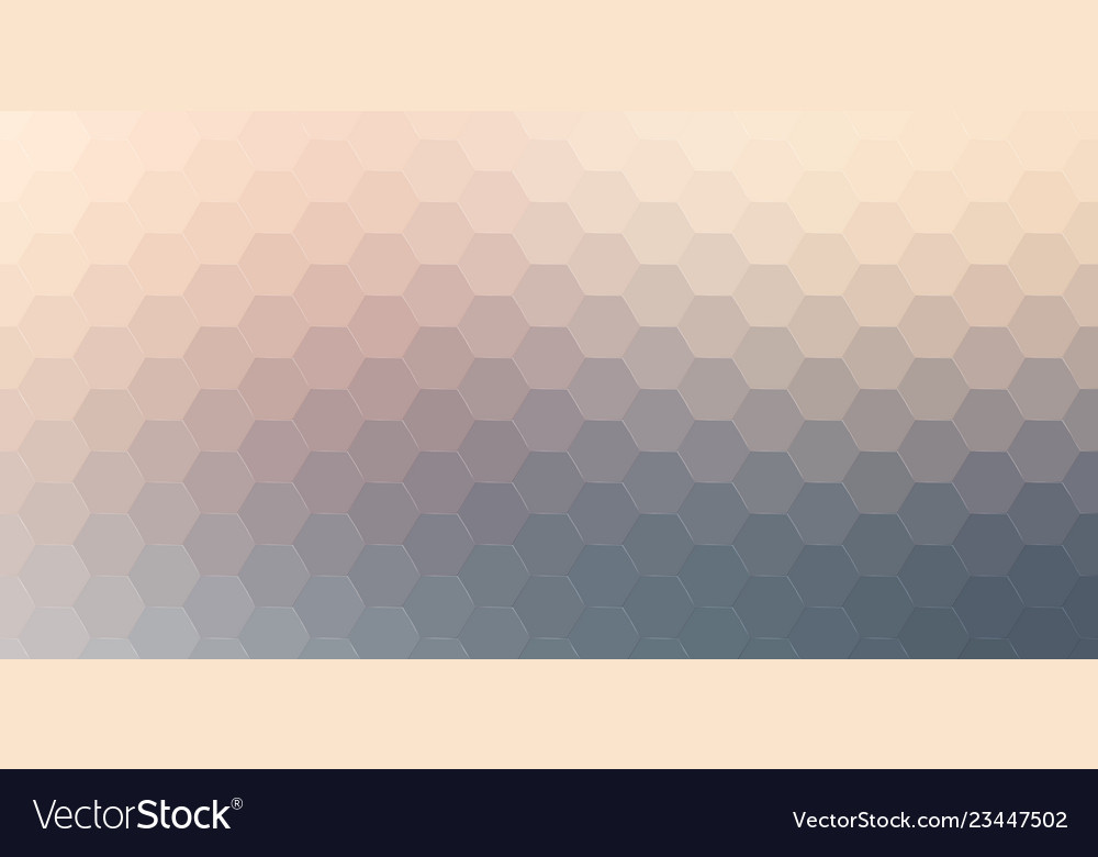 Abstract hexagonal background geometric
