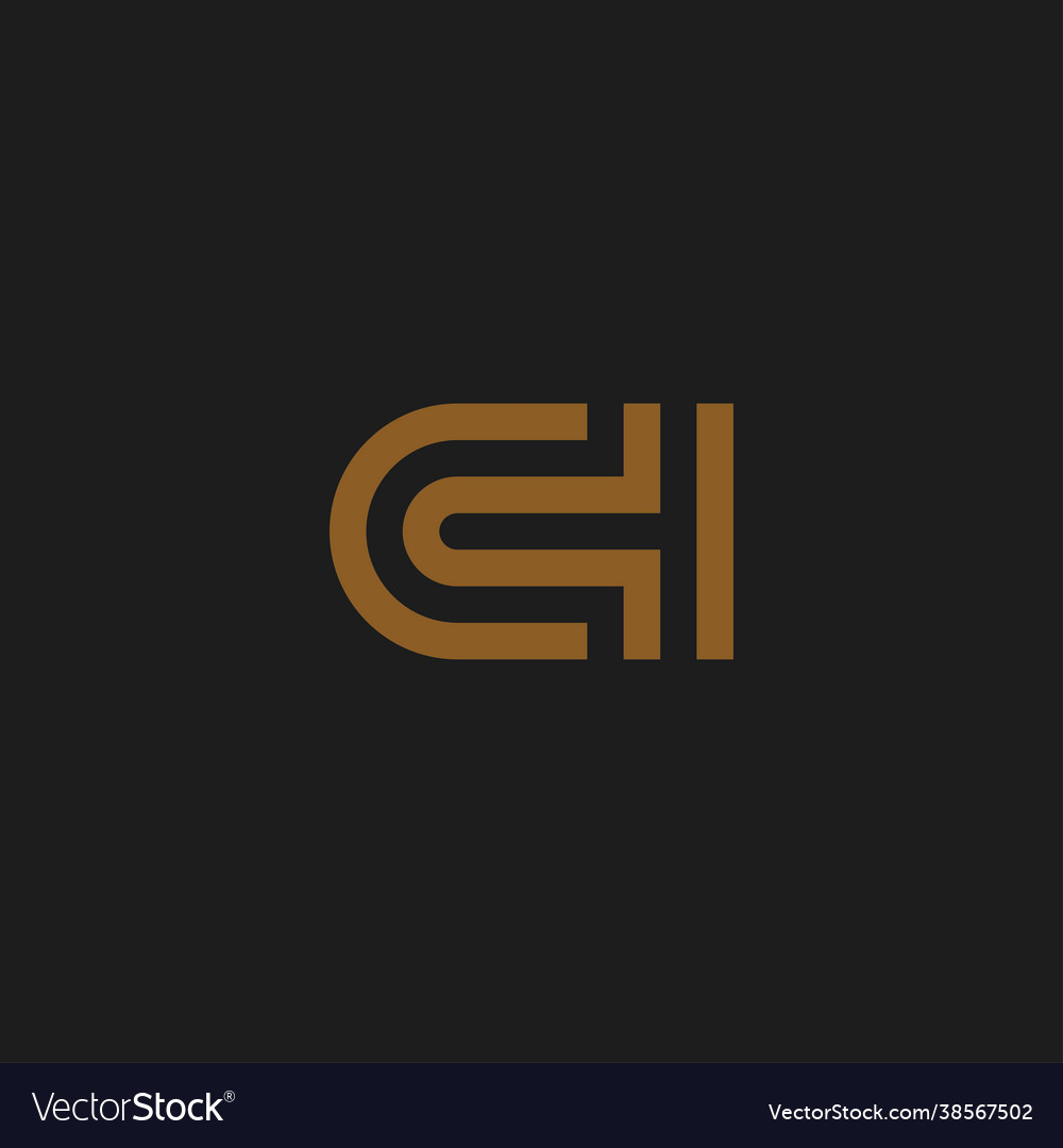 Initial letters ch logo design inspiration