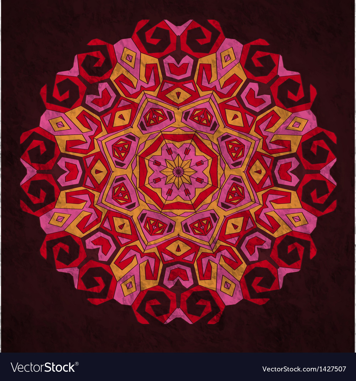 Etnic ornament vector image