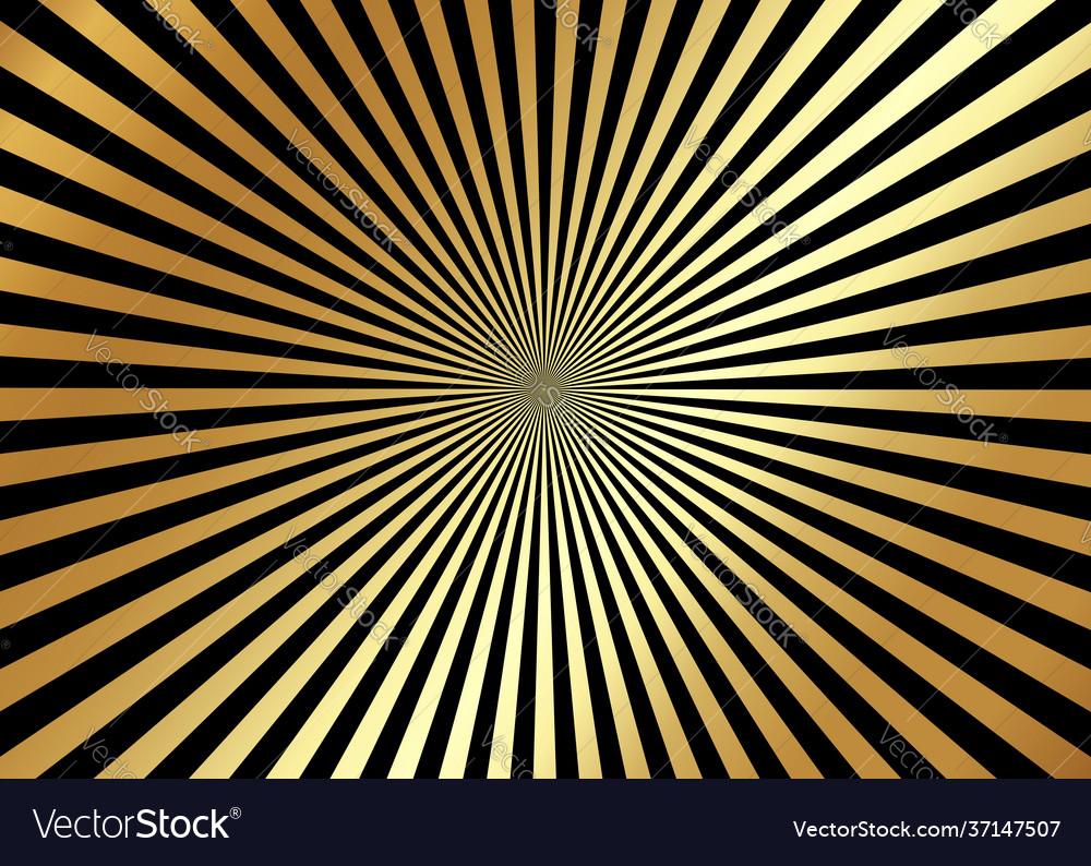 Gold optical illusion deception background