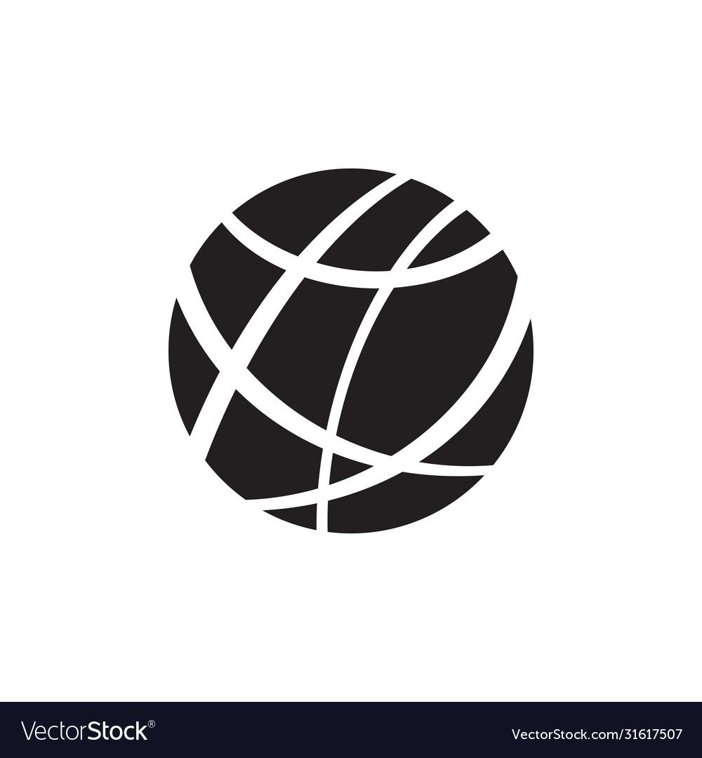 Internet - black icon on white background