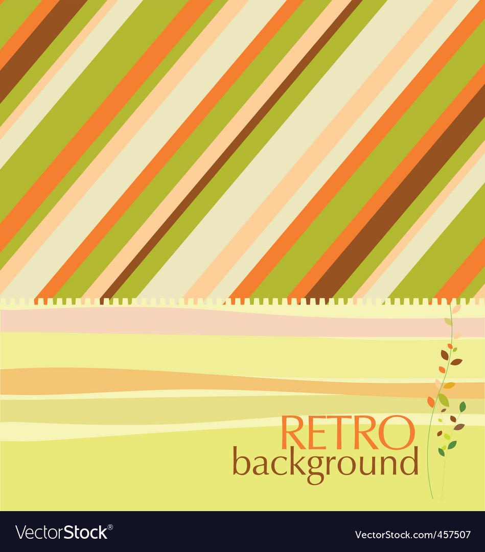 Retro design background