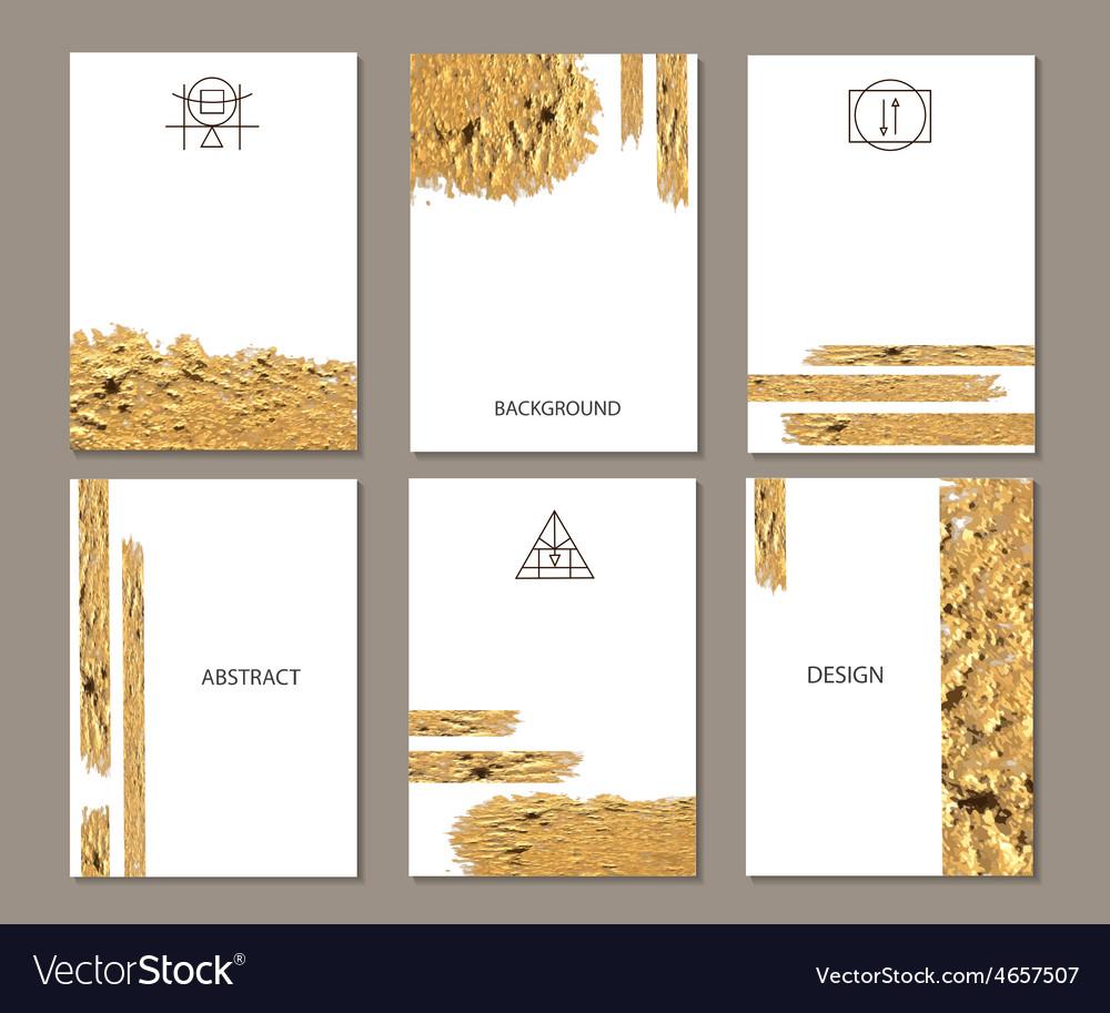 Set of templates