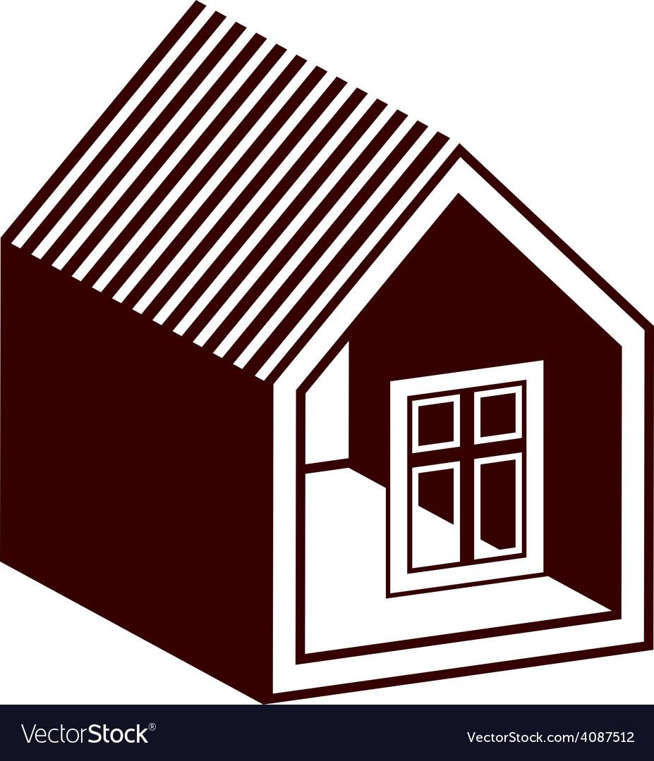 Property developer conceptual business icon