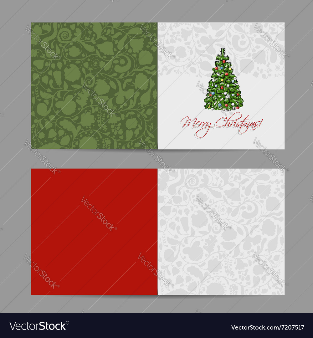 Christmas card sketch for your design