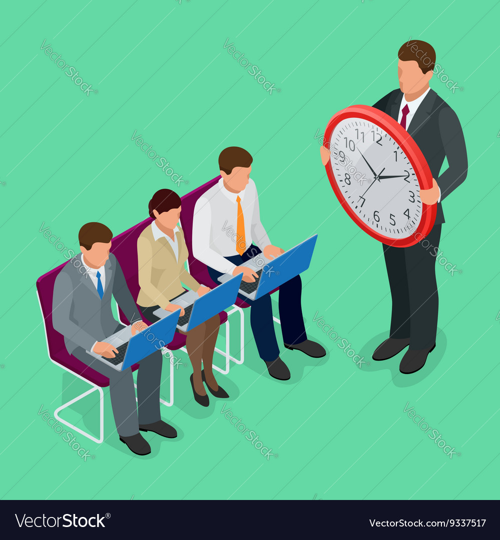 Time management concept planning organization