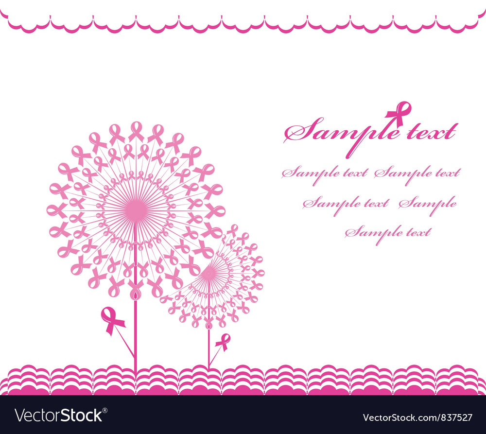Cabstract pink Support Ribbon background