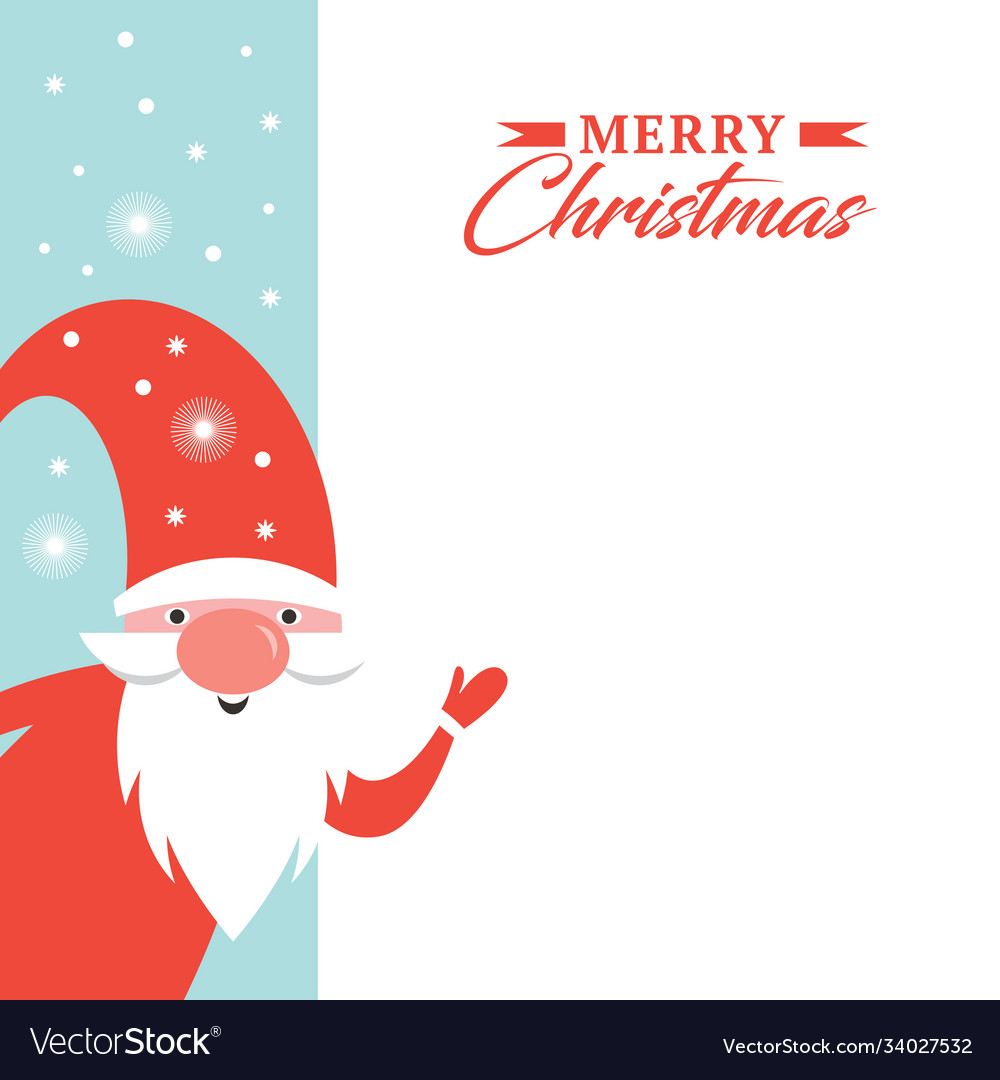 Christmas greeting card happy new year