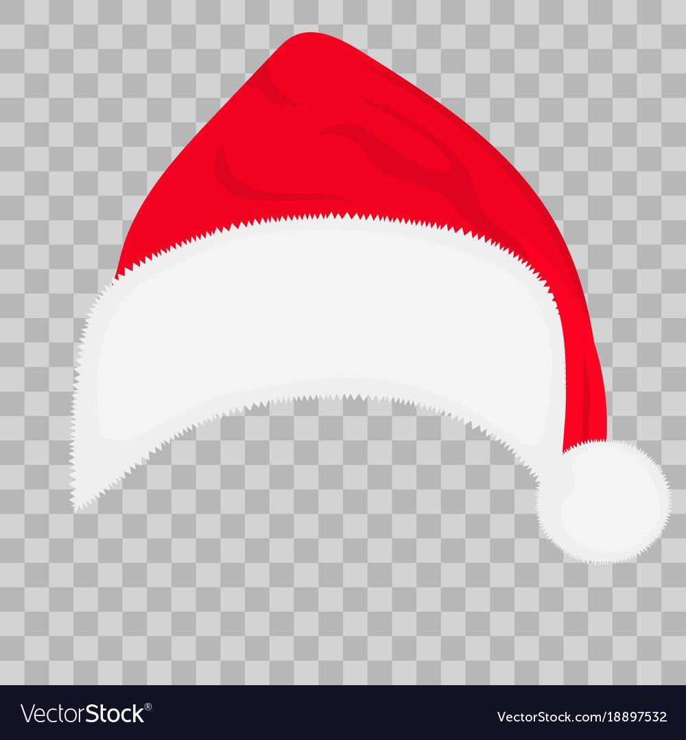 Christmas Hat Transparent Clipart.Santa Hat On Transparent Background