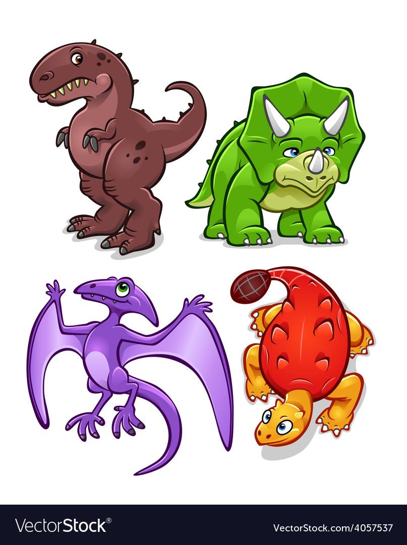 Dinosaurs set one
