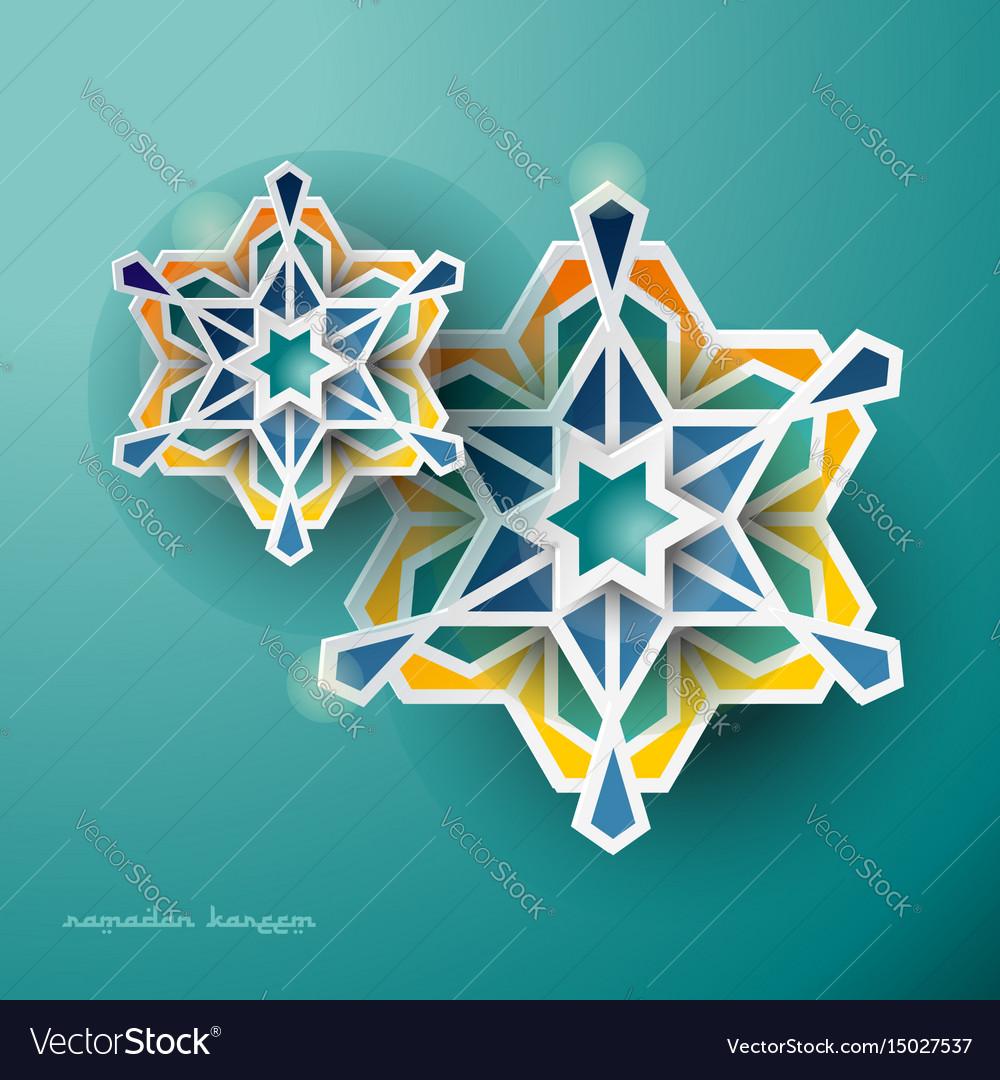 Islamic ramadan background geometric