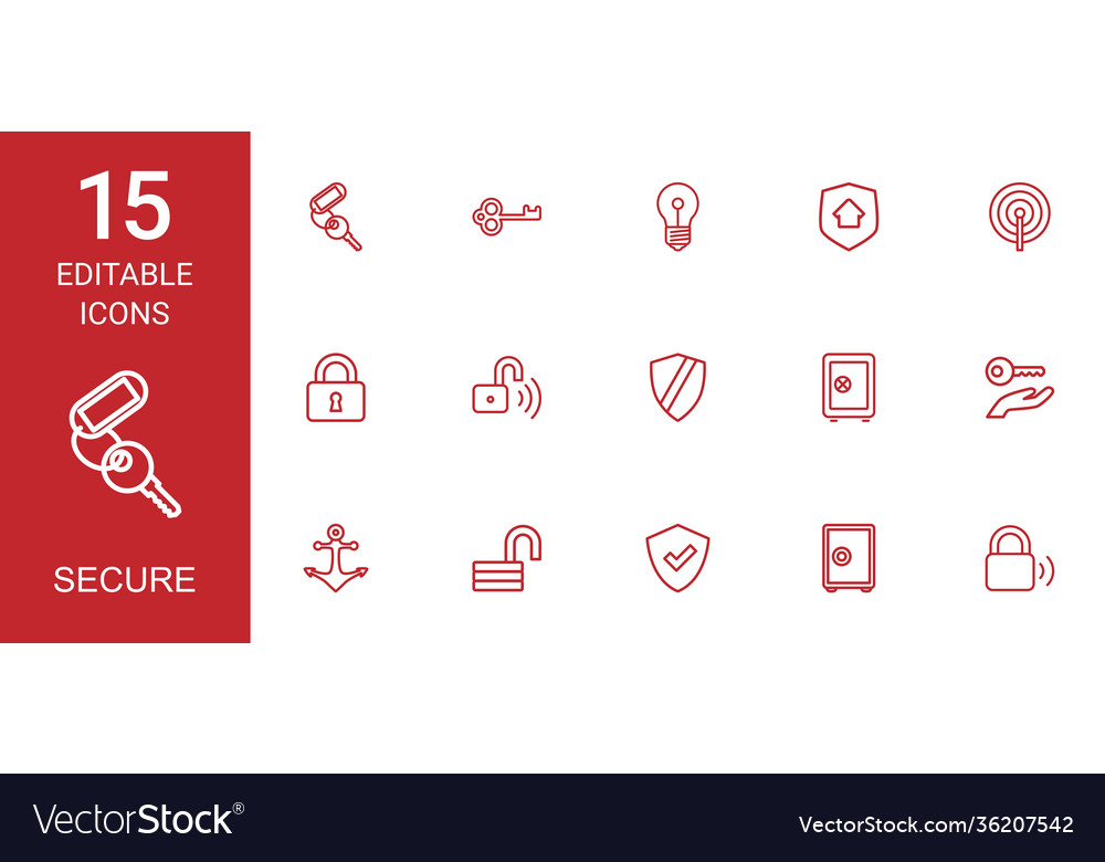 15 secure icons