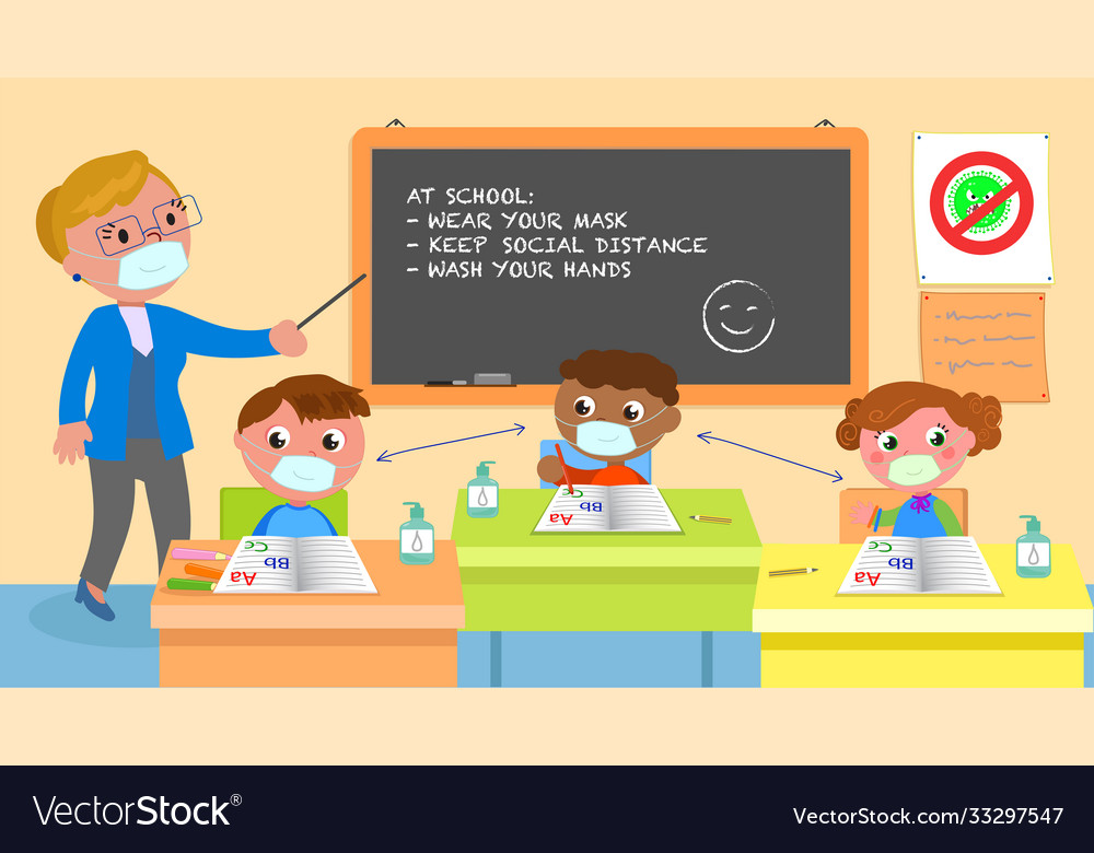 School class and covid-19 rules