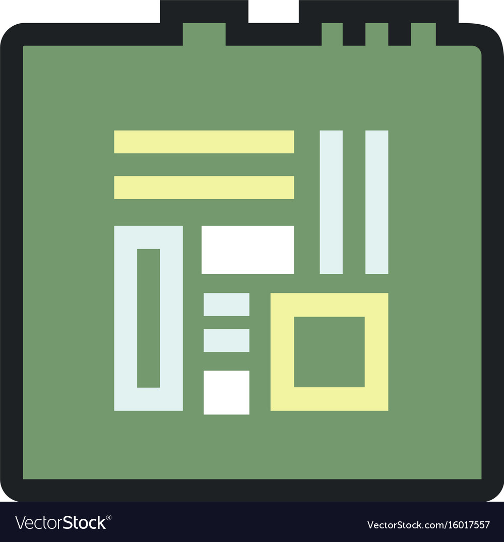 Computers and electronics technology icon