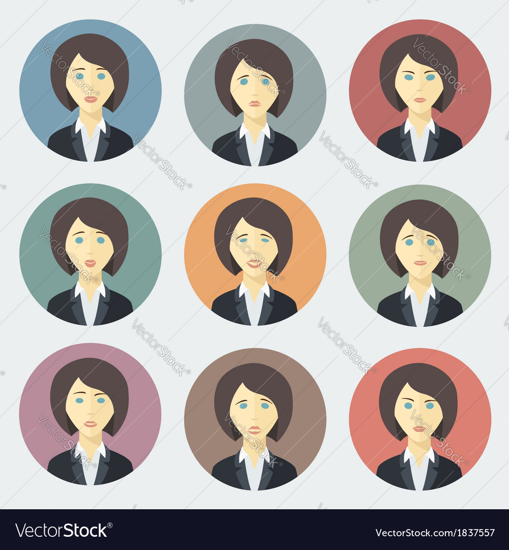 Emotions of Business Woman