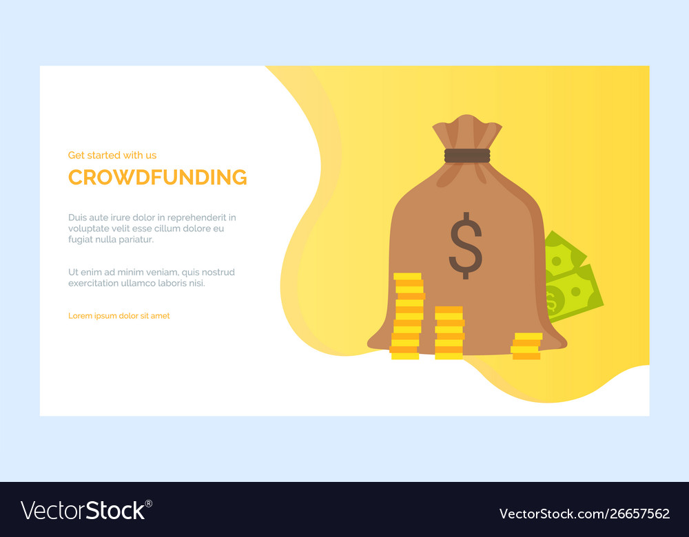 Bank or investment project crowdfunding