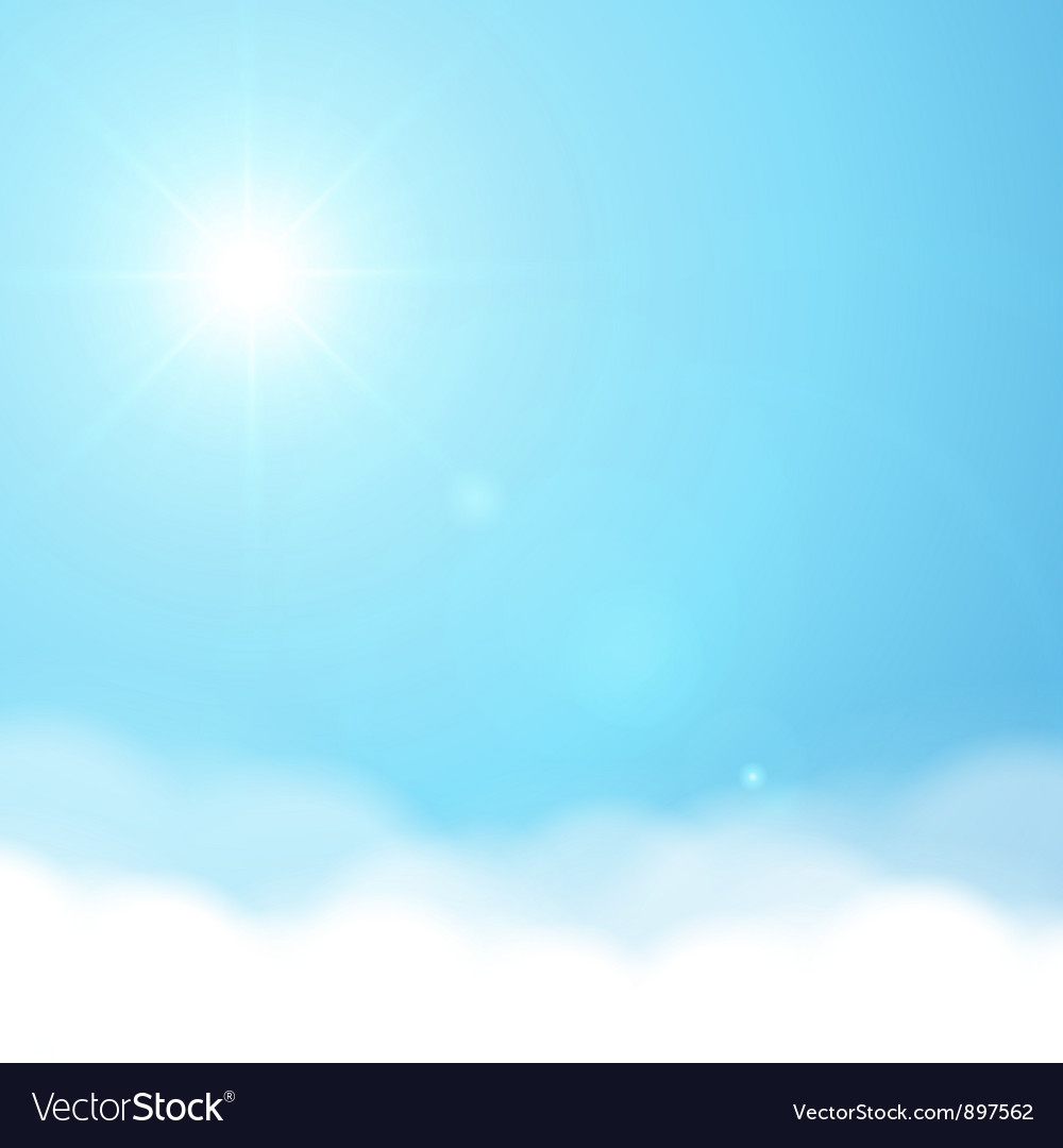 Sun and sky background