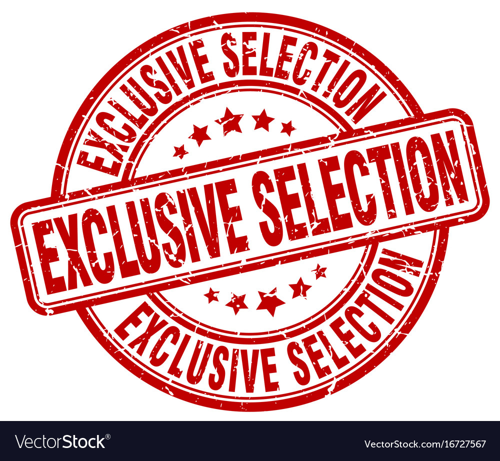 Exclusive selection