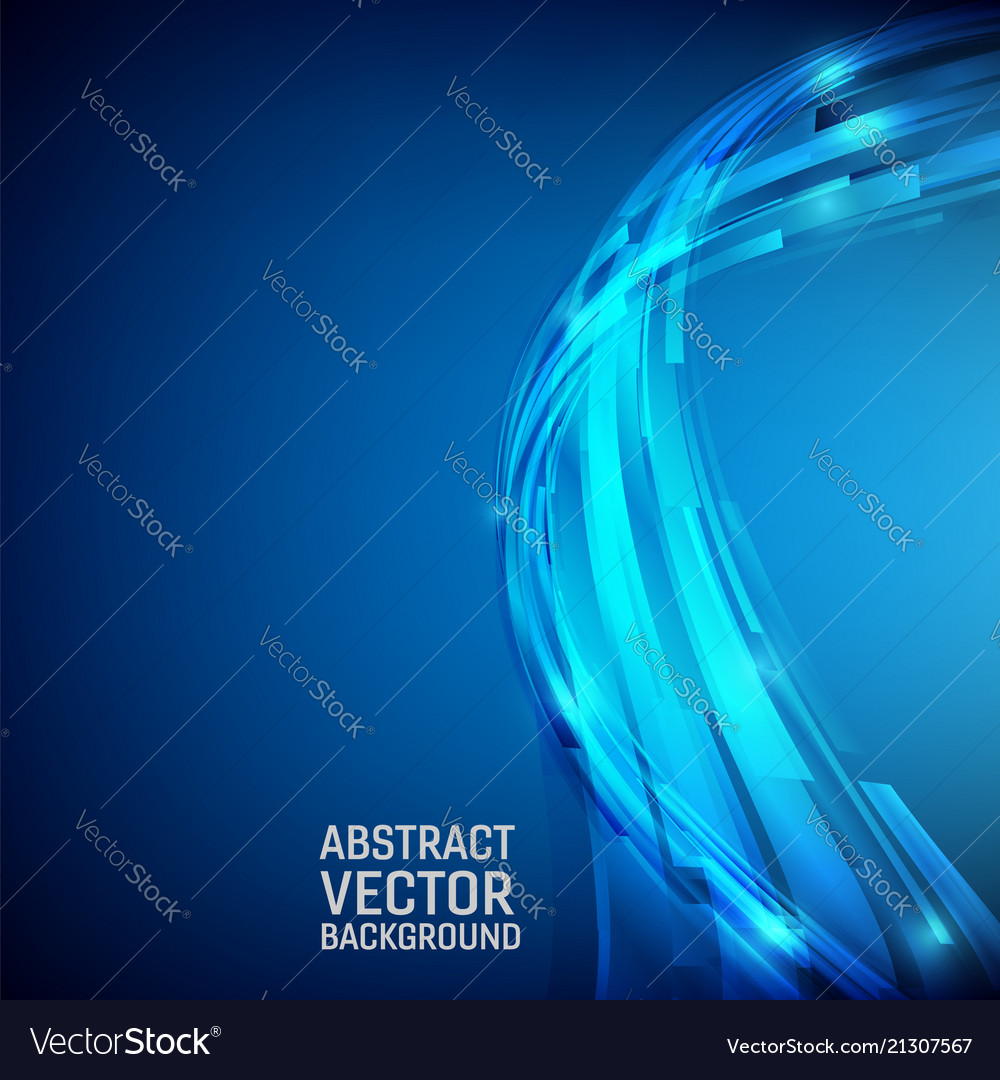 Geometric blue color abstract background design