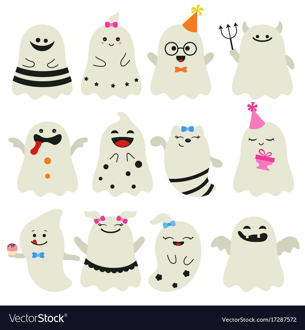 Cute ghost character cute ghost character