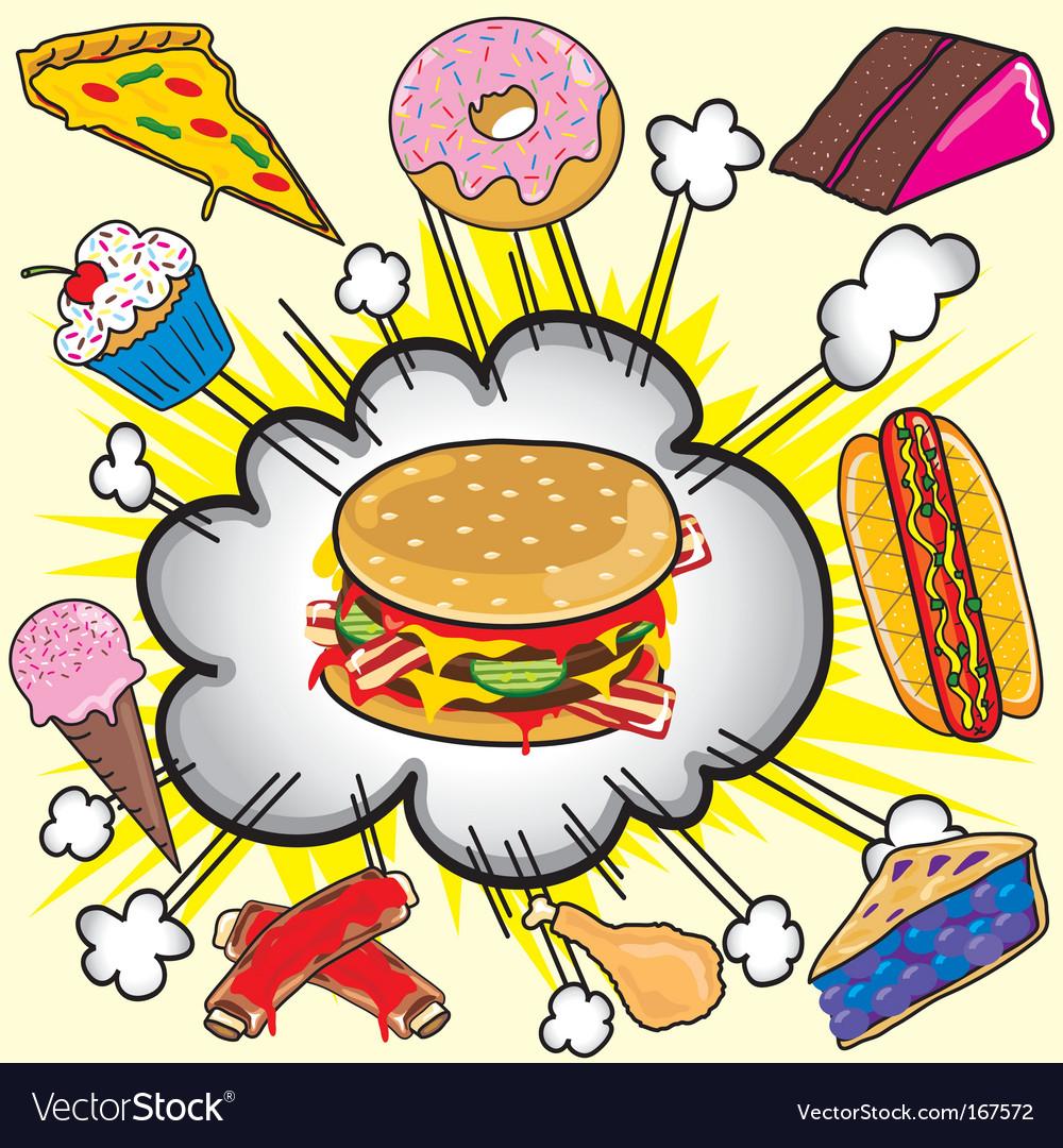Fast food items