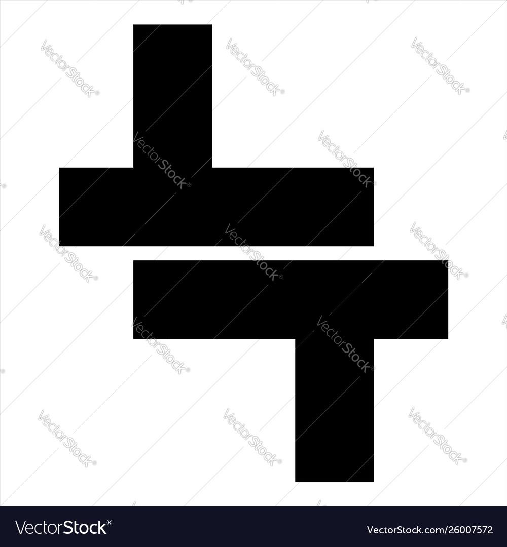 Lt tt initials geometric letter company logo