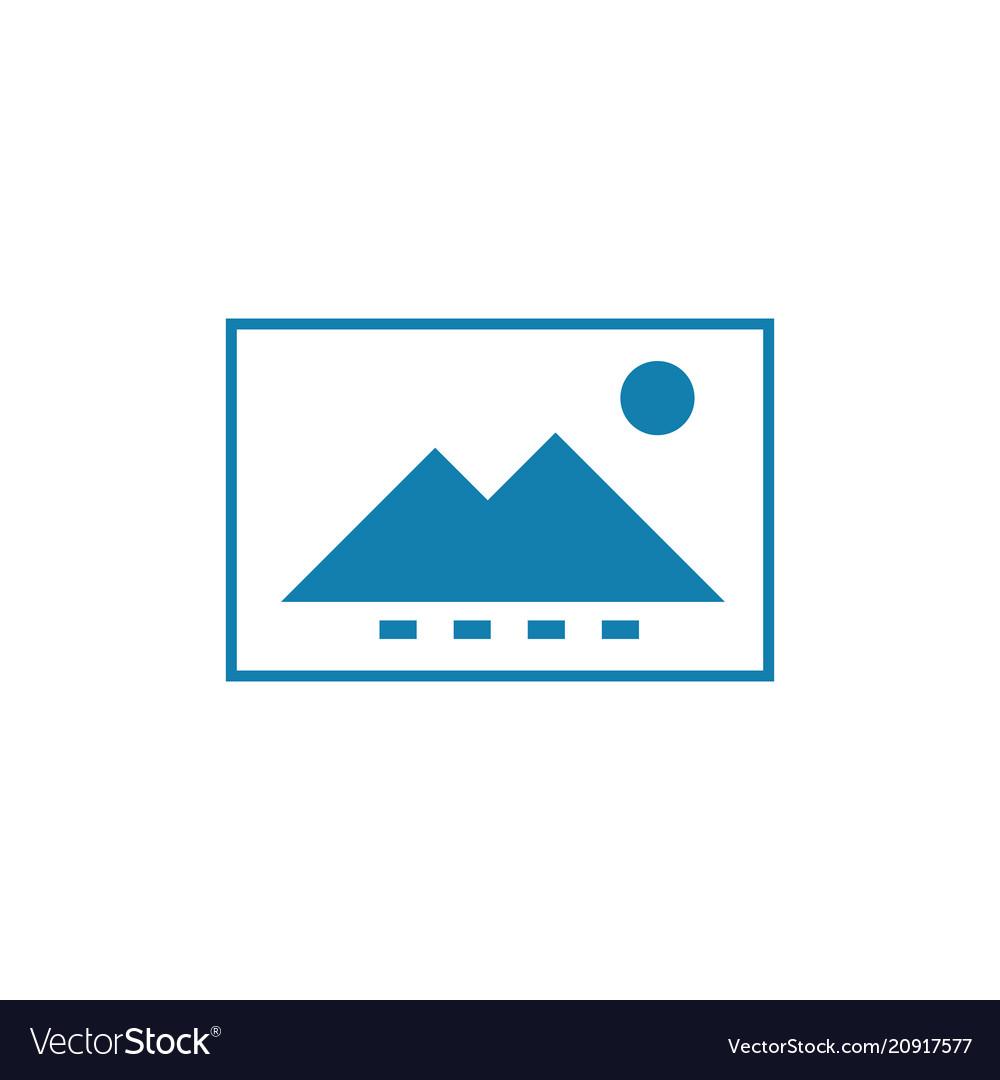 Monochrome image linear icon concept monochrome vector image