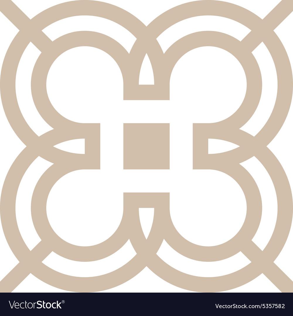 Design number 3 arrow brown icon symbol