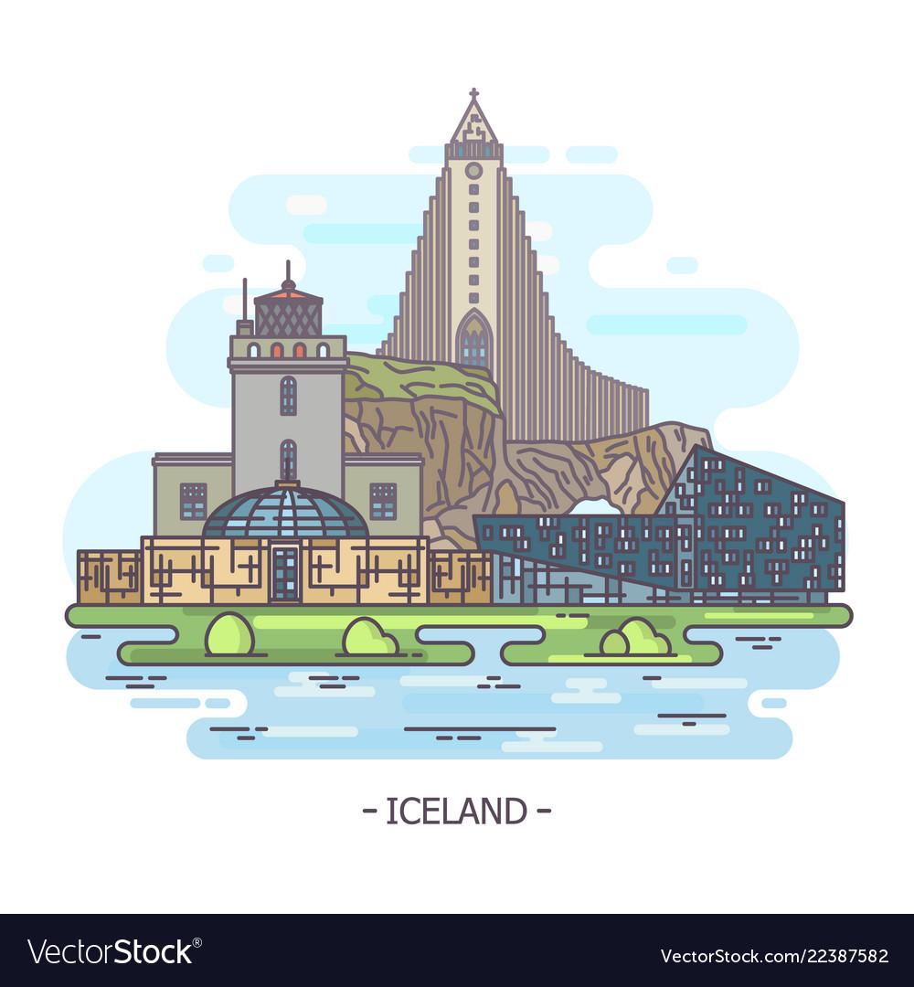 Iceland architecture landmarks iceland monuments