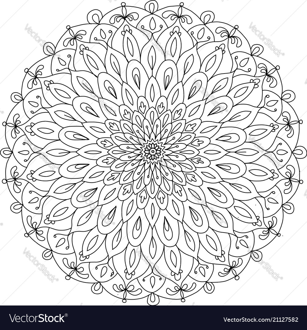 Mandala ornament colorful pattern for your design