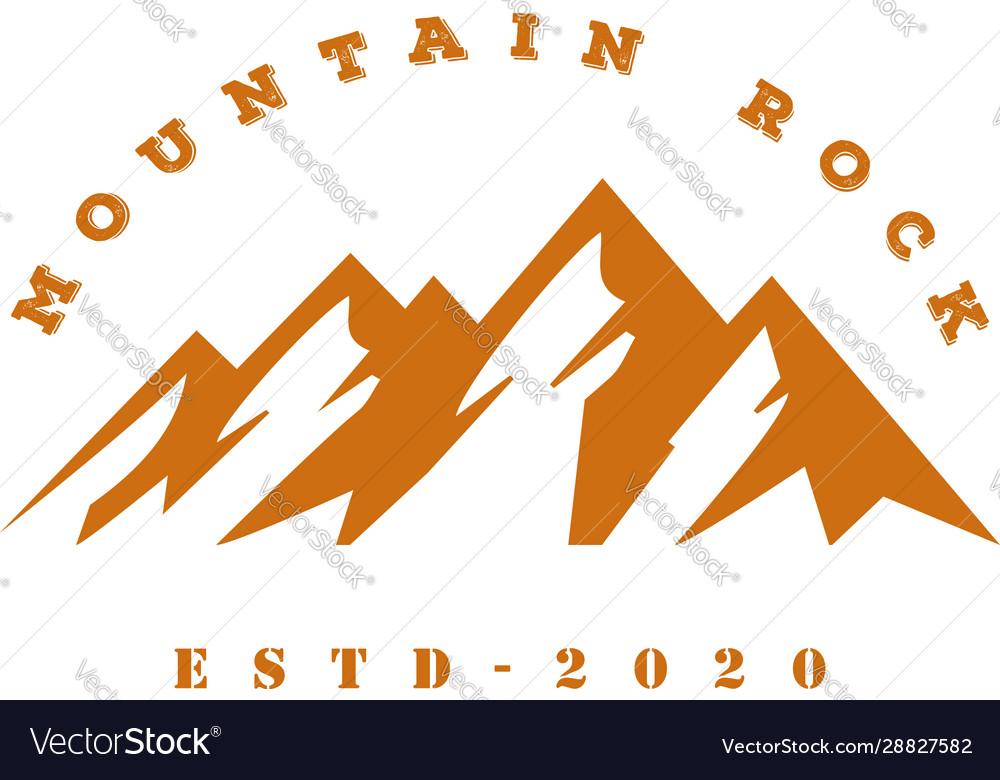 Mountain outdoor adventure